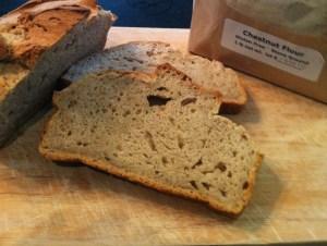 chestnut flour bread - gluten free