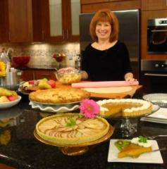 I love to bak epies but my most popular is one, though, is not pictured here - its my infamous chocolate pecan pie - Yum!