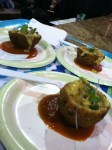 Creole stuffed hushpuppies by chef Jon Fortes of Mimosa Grill