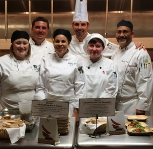 The Queen City Food Fight team from ACF North Carolina