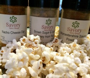 popcorn with spices