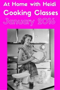 Jan 2016 cooking classes
