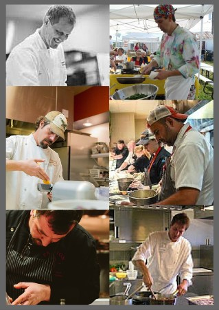 six chefs for the matthews market