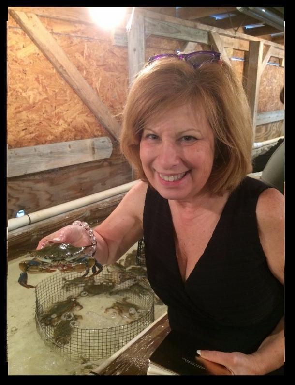 heidi with soft crabs