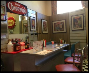 soda shop set