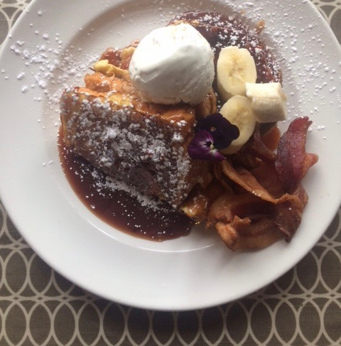 300 East Brunch Stuffed French Toast