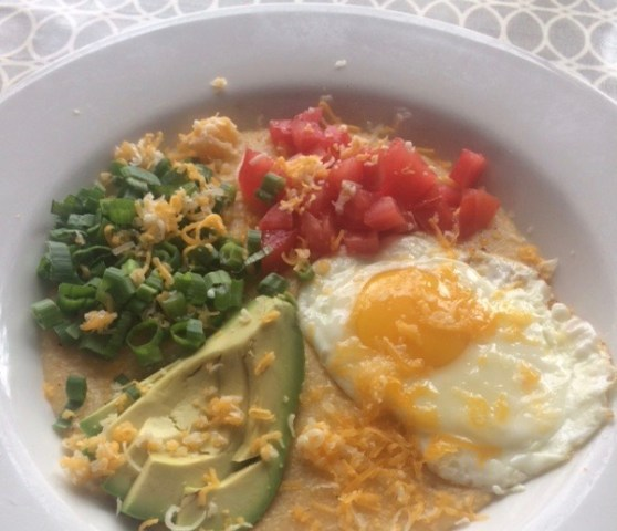 300 East Brunch build your own grits bowl -
