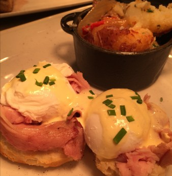 eggs benedict from Mimosa Grill