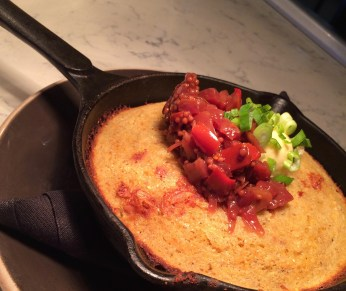 Rock Salt Brunch - cast iron corn bread