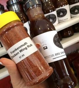 BBQ rub and sauce