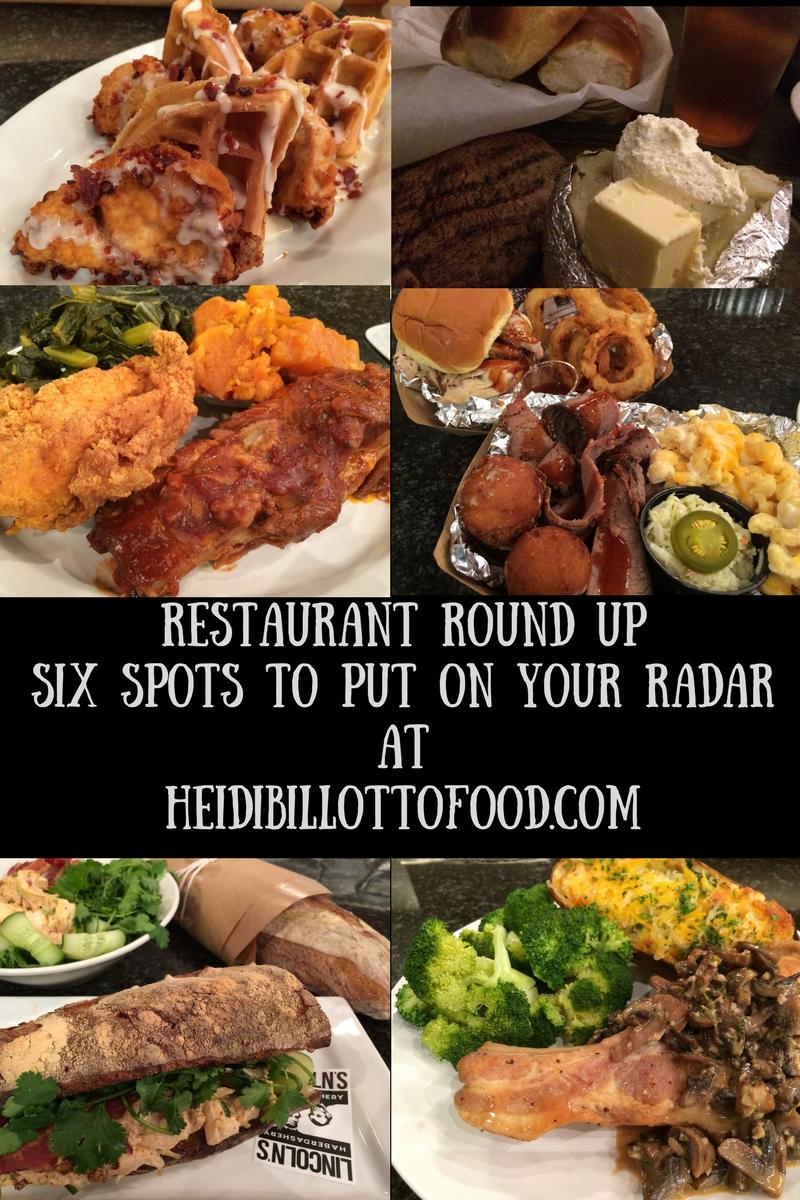 April 2018 Restaurant Roundup