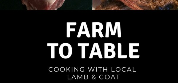 local lamb and goat