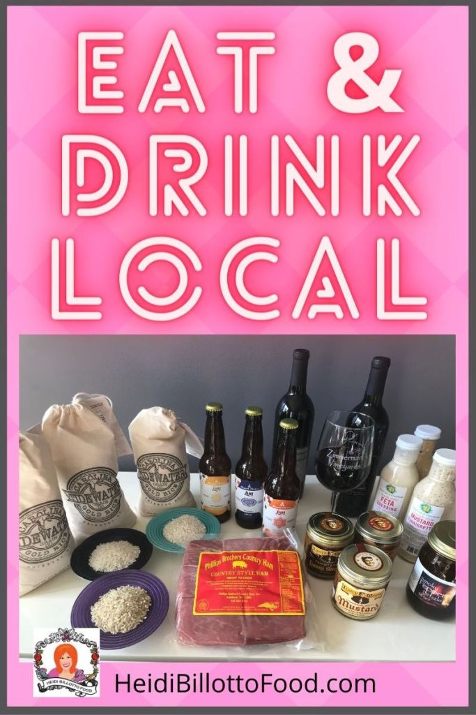 group of local products