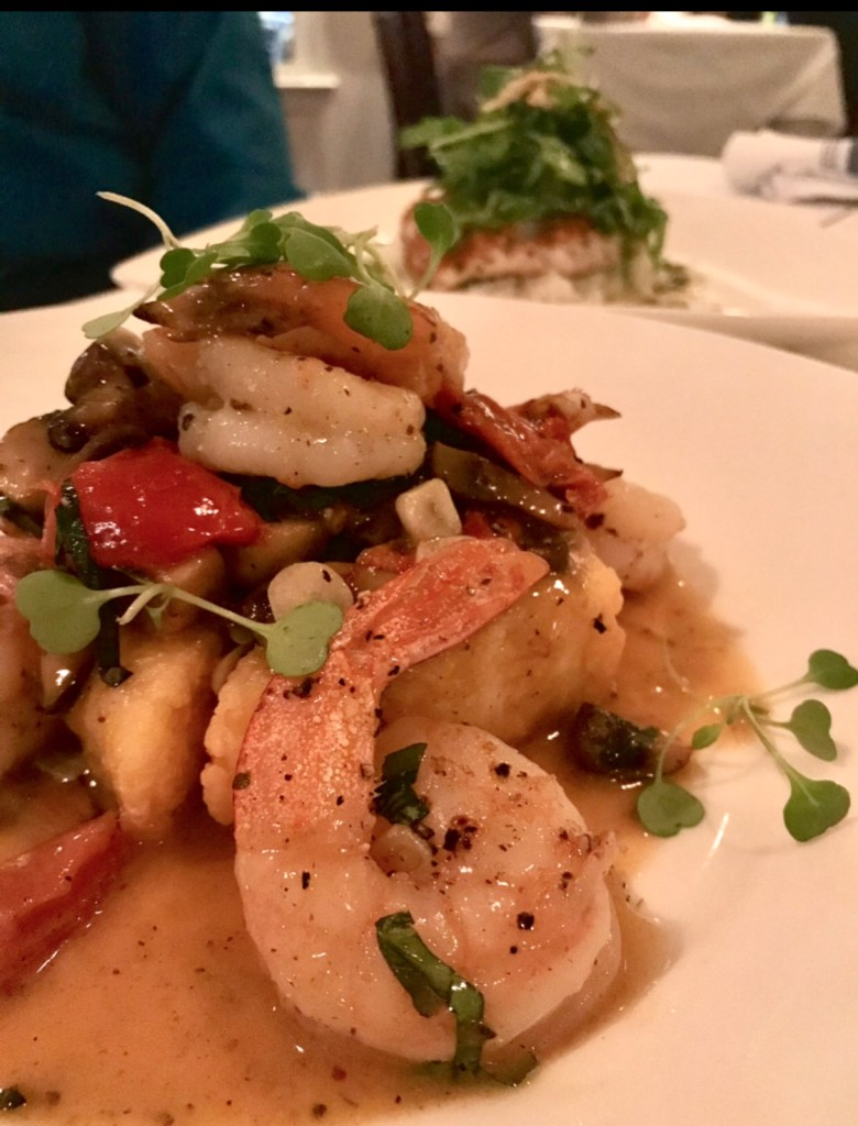 shrimp dinner