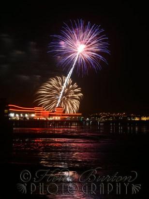 Grand Pier Fireworks, Weston-super-Mare