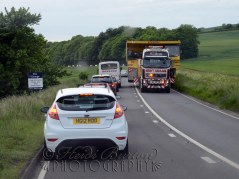 18th June 2013 - driving back up home from the ferry at Portsmouth we passed this little truck :-)