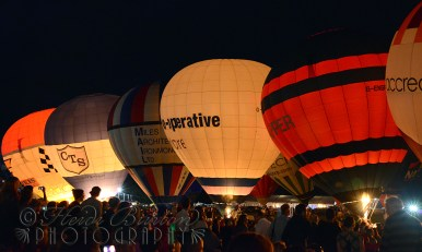 8th August 2013 - I took my ma to the Bristol International Balloon fiesta Nightglow. Neither of us had ever been before - so cool!