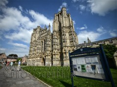 5th September 2013 - Another shot of Wells Cathedral from the other day