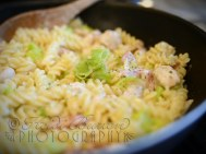 15th September 2013 - chicken, leek and bacon pasta - a proper autumn comfort meal!