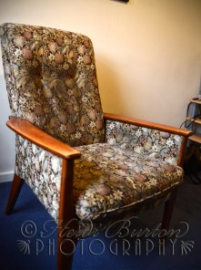 29th November 2013 - time to start another upholstery project on a Parker Knoll chair I got off eBay for a fiver