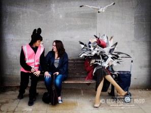 Dismaland, Banksy Exh9ibition, Weston-super-Mare, August/September 2015