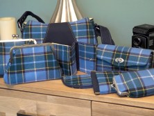 Another order of Manx tartan bags, purses, wallets and glasses cases heading off to Irresistible Ladies Wear in Ramsey on the Isle of Man :-) #laxeymanx #tartan #handmade #handbagsandhome #366for2016 #49