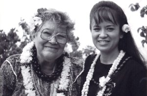 Nona Beamer and Maile Loo | Photo © Heidi Chang