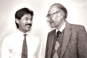 Dale Minami and Fred Korematsu | Photo courtesy of Lia Chang