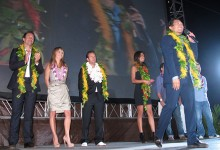 Hawaii Five-0 cast at the Hawaii Premiere. Photo by Heidi Chang.