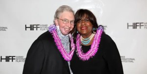 Roger Ebert with his wife Chaz | © HIFF