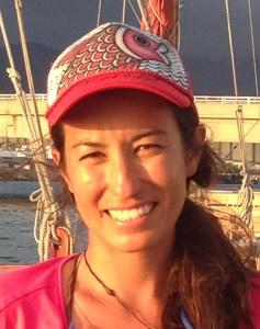 Haunani Kane, Science coordinator for the worldwide voyage   Photo © Heidi Chang