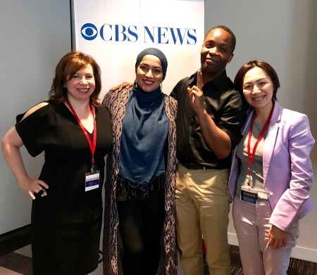 CBS News speakers: Nancy Kramer, Anam Siddiq, Ramon Parkins and Lulu Chiang