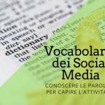 Il vocabolario dei Social Media