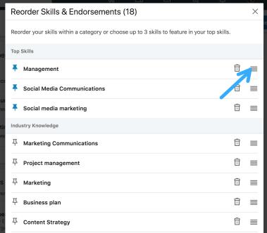 Skill di LinkedIn