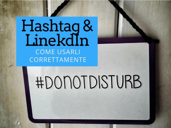 come usare gli Hashtag su LinkedIn
