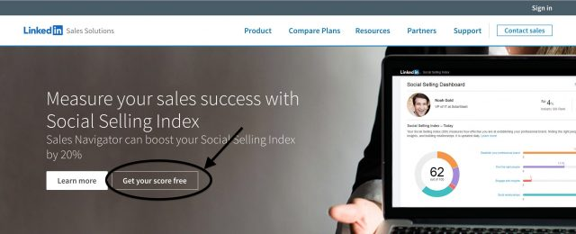 calcola il tuo social selling index