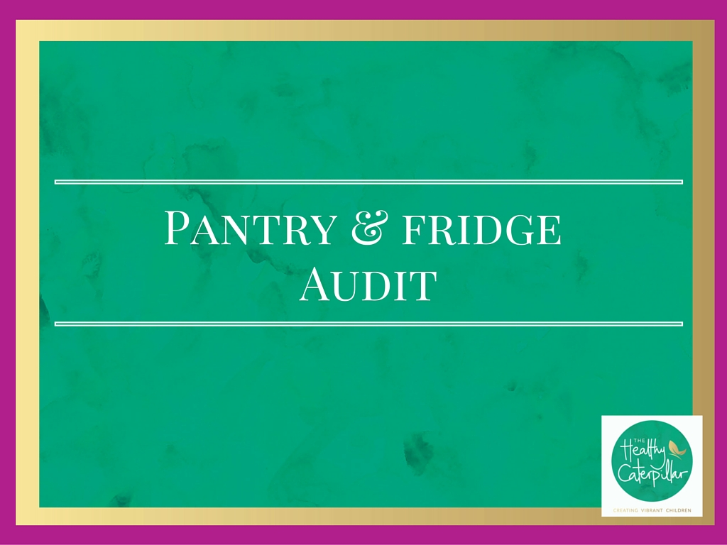 Pantry & fridge audit