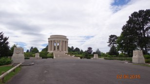 American war memorial at Montsec