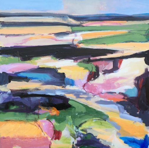 BD1-painting-landscape-field-abstract-hudson-valley