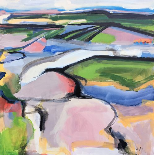 onion-painting-landscape-field-abstract-hudson-valley