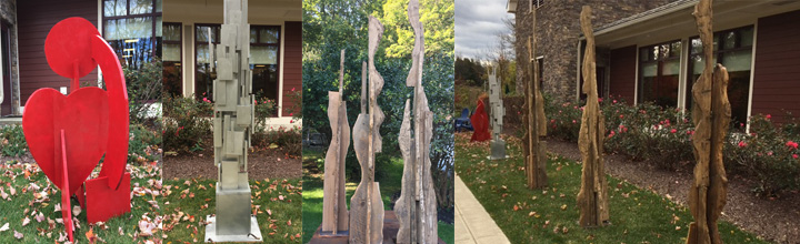 Albert Wisner Public Library Sculpture Show