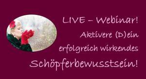 Logo Schöpferbewusstsein Webinar