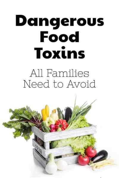eat toxin free foods