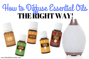 Best way to diffuse essential oils
