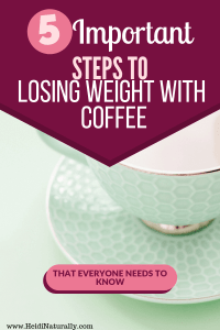 How to lose weight with coffee