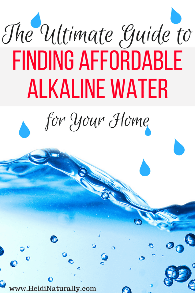 affordable alkaline water