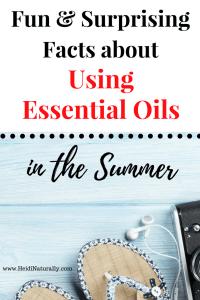 oils for summer