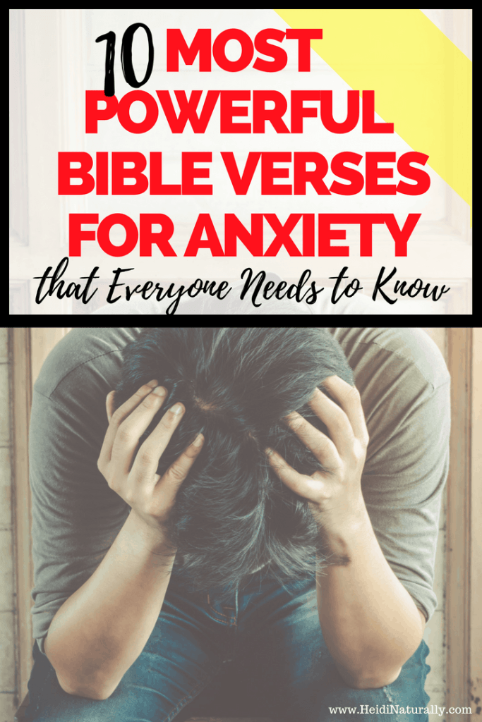 best bible verses for anxiety