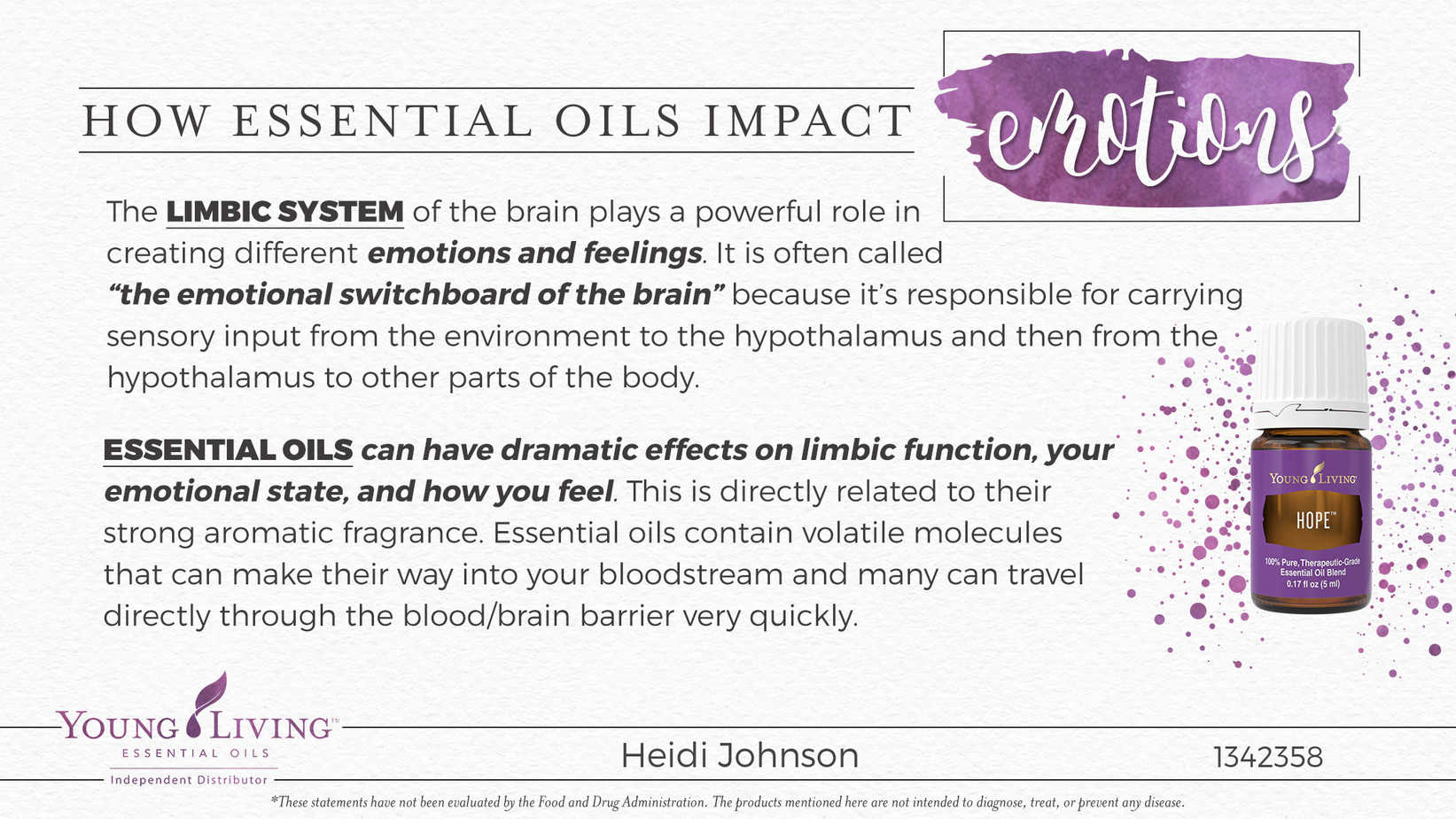 essential oils limbic system