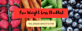 free weight loss checklist